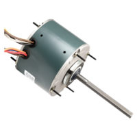 1 Speed Condenser Fan Motor (1/3 HP, 208/230 V, 1075 RPM)