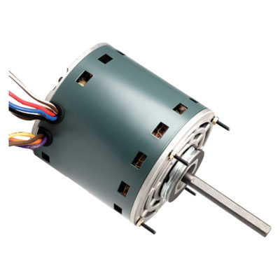 3 Speed Multi-Horsepower Fan Motor (3/4,1/2,1/3,1/4,1/5 HP, 208/230 V, 1075 RPM)