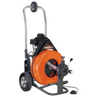 "Speedrooter Drain Cleaning Machine - 5/8"" x 100' Cable"