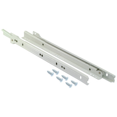 "Self-Closing Drawer Slide - 18"" Length"