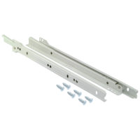 "Self-Closing Drawer Slide - 20"" Length"