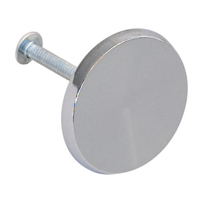 """Cabinet and Drawer Knob - 1-1/2"""" - Chrome"""