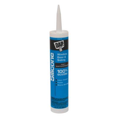 All-Purpose 100% Silicone Sealant - White 10 oz.