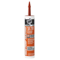 DAP High-Temp Silicone Sealant - 10.3 oz. Red