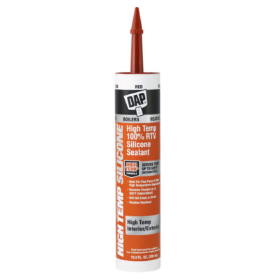 DAP High-Temp Silicone Sealant - 10.3 oz. Red