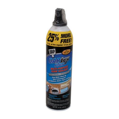 DAPTEX Plus Multi-Purpose Foam Sealant - 12 oz.