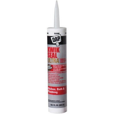 Kwik Seal Ultra Premium Siliconized Sealant - Clear 10.1 oz.