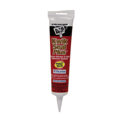 Kwik Seal Plus Premium Adhesive Sealant - Biscuit 5.5 oz.