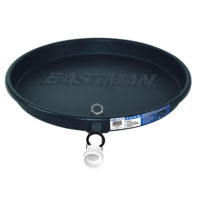 "30"" Black Plastic Water Heater Pans"