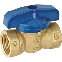 "3/4"" FIP Gas Ball Valve - 1 PC"