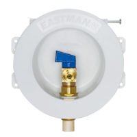 "1/2"" CPVC Round Mini Icemaker Outlet Box"