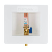Eastman Ice Maker Outlet Box with Hammer Arrestor - 1/2 in. Expansion PEX