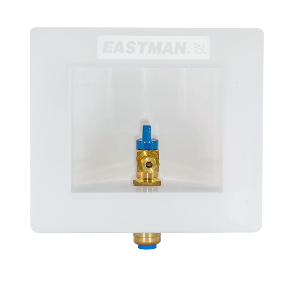 "1/2"" Push-Fit Icemaker Outlet Box"