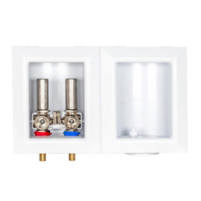 Sioux Chief Washing Machine Outlet Box with Hammer Arrestors - 1/2 in. Crimp PEX