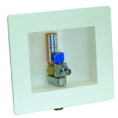 "1/2"" Sweat Icemaker Box with Hammer Arresters"