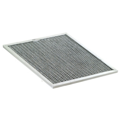 "Activated Carbon Filter - 7"" x 7-1/2"" x 3/8"""