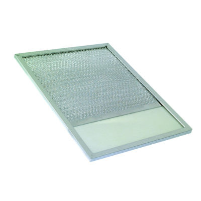 "10-13/16"" x 11-13/16"" x 1/2"" Aluminum Filter With Lens"