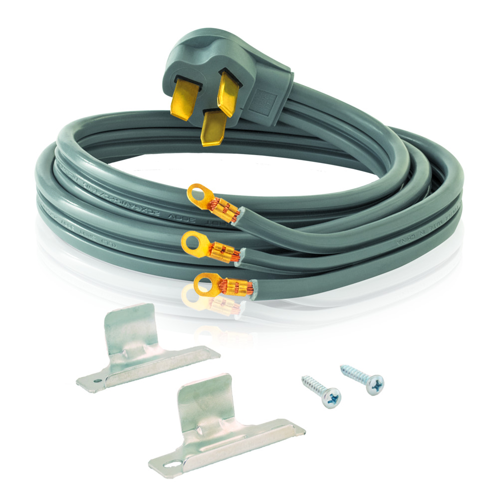 4\' Electric Range Cord - 50 Amp - 3 Wire | Contractor Access