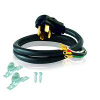 4' Electric Dryer Cord - 30 AMP - 4 Wire