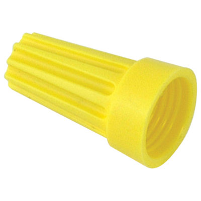 Plastic Wire Nuts - Yellow Wire Nut #74B