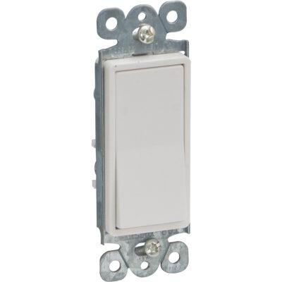 DECO Single Pole Wall Switch - Ivory