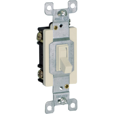 Single Pole Wall Switch - Ivory