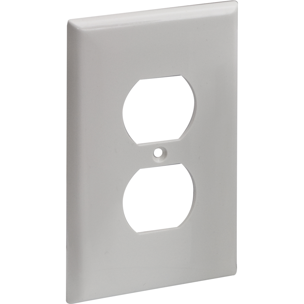Two Gang DECO Wall Plate - Ivory - 62069 | Contractor Access