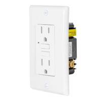 Ground Fault Circuit Interrupter - White