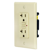 Ground Fault Circuit Interrupter 20 Amp - Ivory