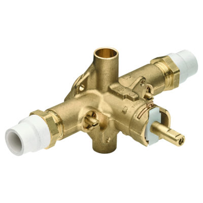 "1/2"" CPVC Pressure Balance Rough-In Valve with Integral Stops"