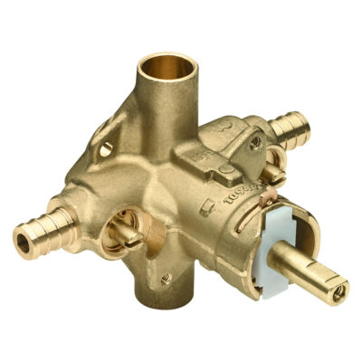 """1/2"""" PEX Pressure Balance Rough-In Valve with Integral Stops"""