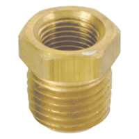 "1/2"" MIP x 1/4"" FIP Brass Pipe Reducing Bushing (109 Series)"