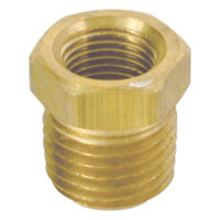 "3/4"" MIP x 1/2"" FIP Brass Pipe Reducing Bushing (109 Series)"