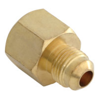 "3/8"" OD Flare x 3/8"" FIP Adaptor Gas Fitting"