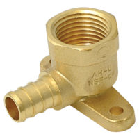 "3/4"" Drop Ear Elbow- Brass (PEX x FIP)"