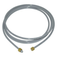 """6' PEX Icemaker Connector (PEX  1/4"""" OD (1/8"""" ID)  with Captured Brass Nuts)"""