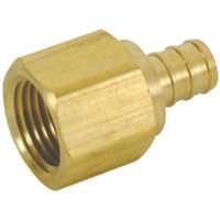 "1"" PEX Female Adapter - Brass (PEX x FIP)"