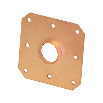 "3/4"" PEX Copper Plated Eared Tube Hanger"