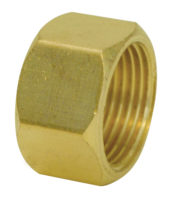 "1/4"" OD Compression Nut"