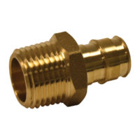 "3/4"" x 1"" PEX Male Adapter - Polymer (PEX x MIP)"