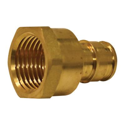 "3/4"" x 1"" Expansion PEX Female Adapter - Brass (PEX x FIP)"