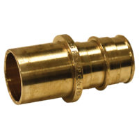 "3/4"" Expansion Adapter - Brass (PEX x Male Sweat)"