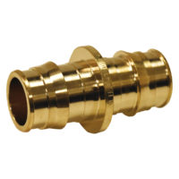 "1"" PEX Coupling - Brass"