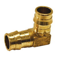 "1"" PEX Elbow - Brass"