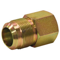 "1"" OD Flare x 3/4"" FIP Adaptor Gas Fitting."