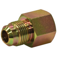 "1/2"" OD Flare x 1/2"" FIP Adapter Gas Fitting."