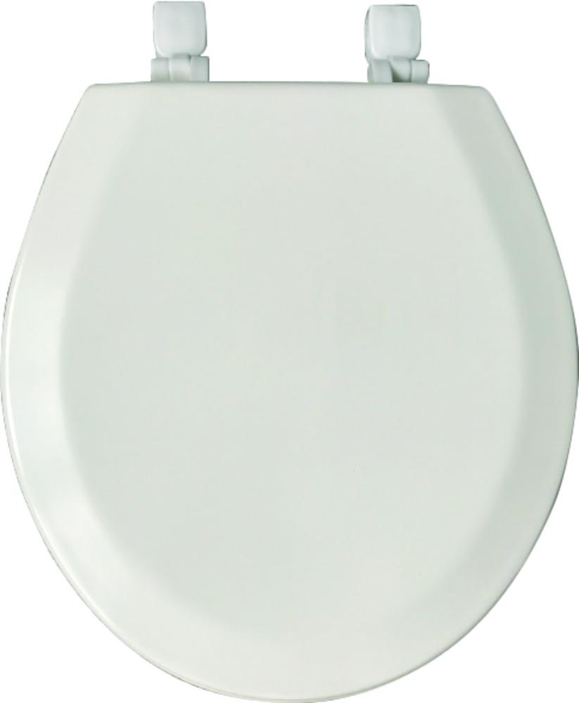 Wooden Toilet Seat - Beveled Round Top