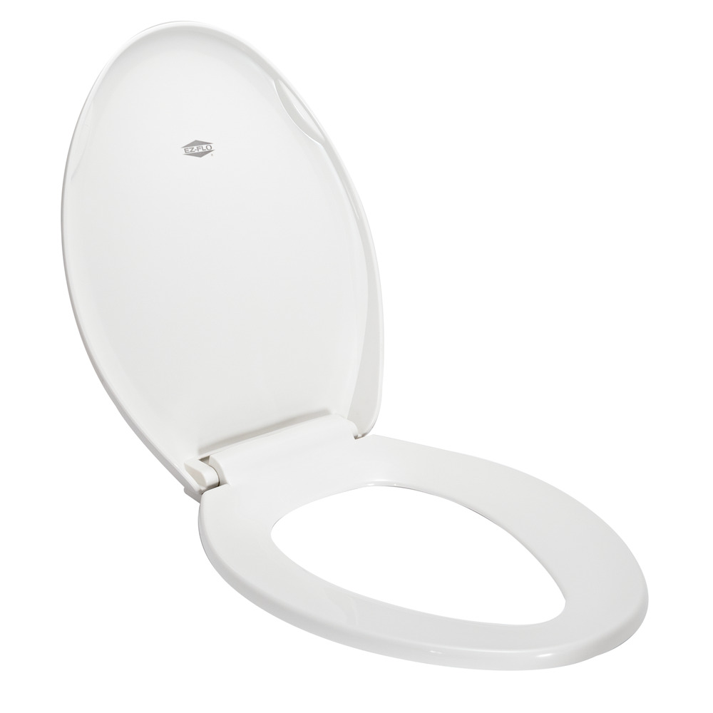Marvelous Ez Flo White Superior Soft Close Toilet Seat Elongated 65933 Contractor Access Onthecornerstone Fun Painted Chair Ideas Images Onthecornerstoneorg
