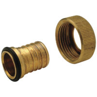 "1"" Swivel x 3/4"" Barb Zurn Inlet Adapter"
