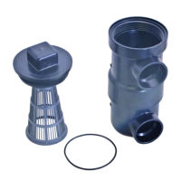 ABS In-Line Strainer